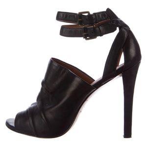 Elizabeth and James ankle leather strap pumps